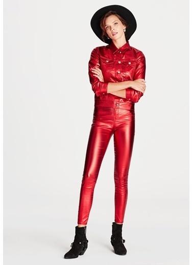 Mavi Jean Pantolon | Serenay - Skinny Kırmızı